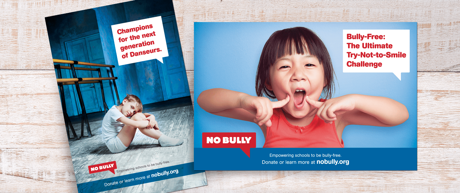 No Bully Ad Campaign Samples