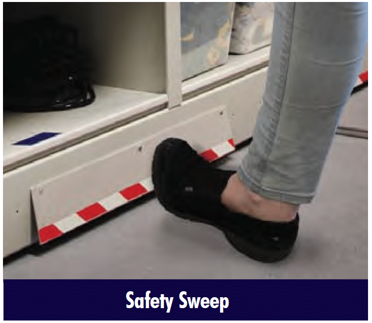 Mobile Shelving Safety Sweep