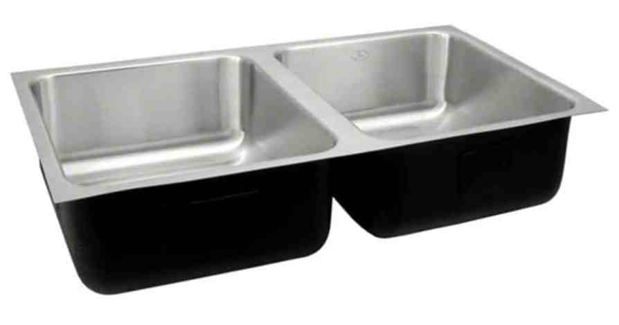 Laboratory Sinks Undermount Stainless Steel Double Bowl Sinks