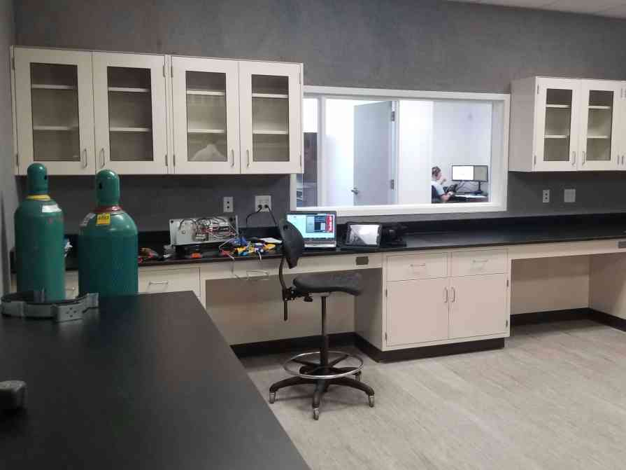 Laboratory Furniture In-Stock hanging cabinets and casework