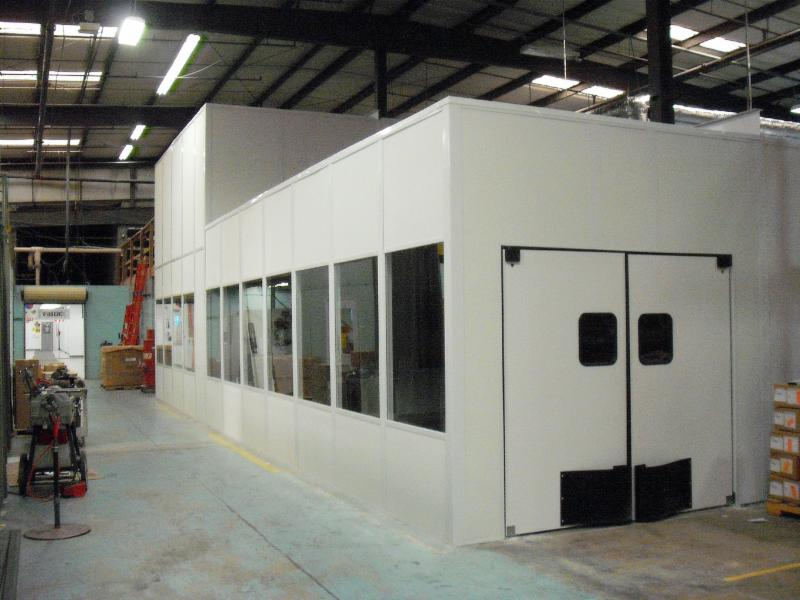 Laboratory In-Plant Modular Cleanroom