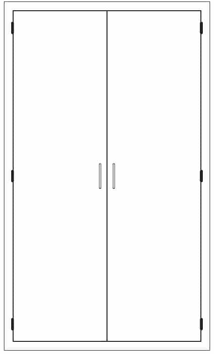 Stainless Steel Cabinet Drawing