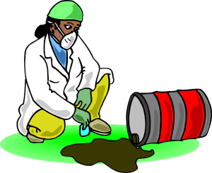 Chemical Spill In Laboratory