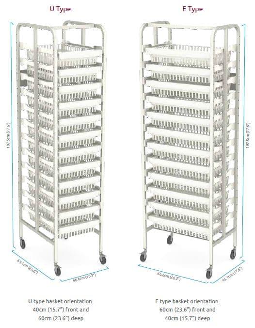 hospital modular rack systems