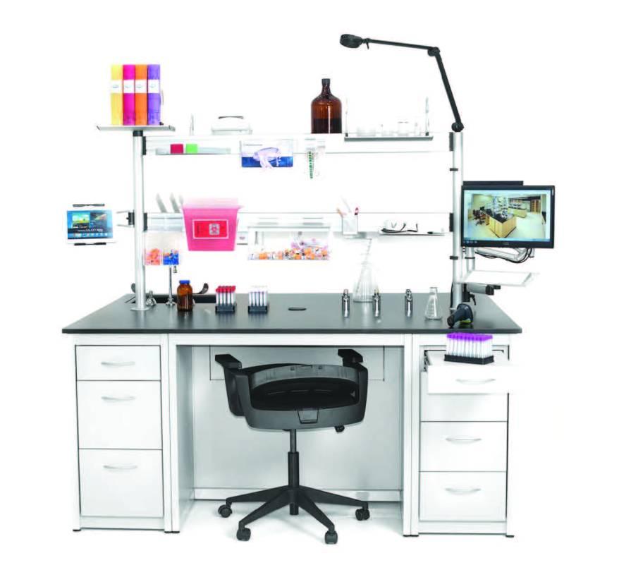 laboratory modular desk