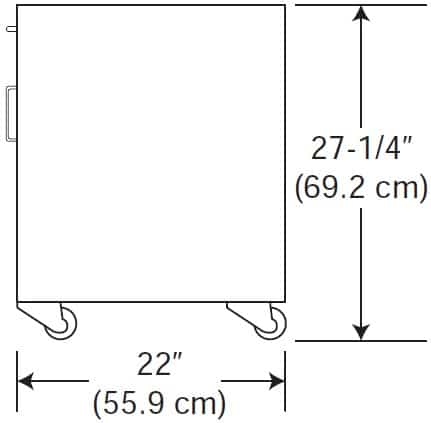 Patriot Table Cabinet Dimensions Drawing