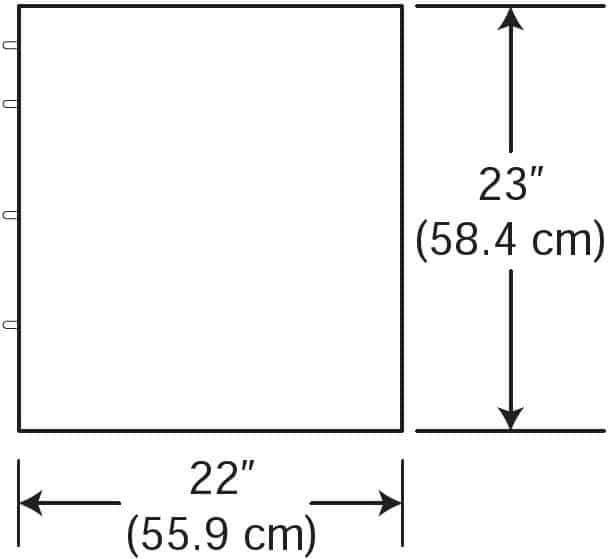 Suspended Cabinet Dimensions