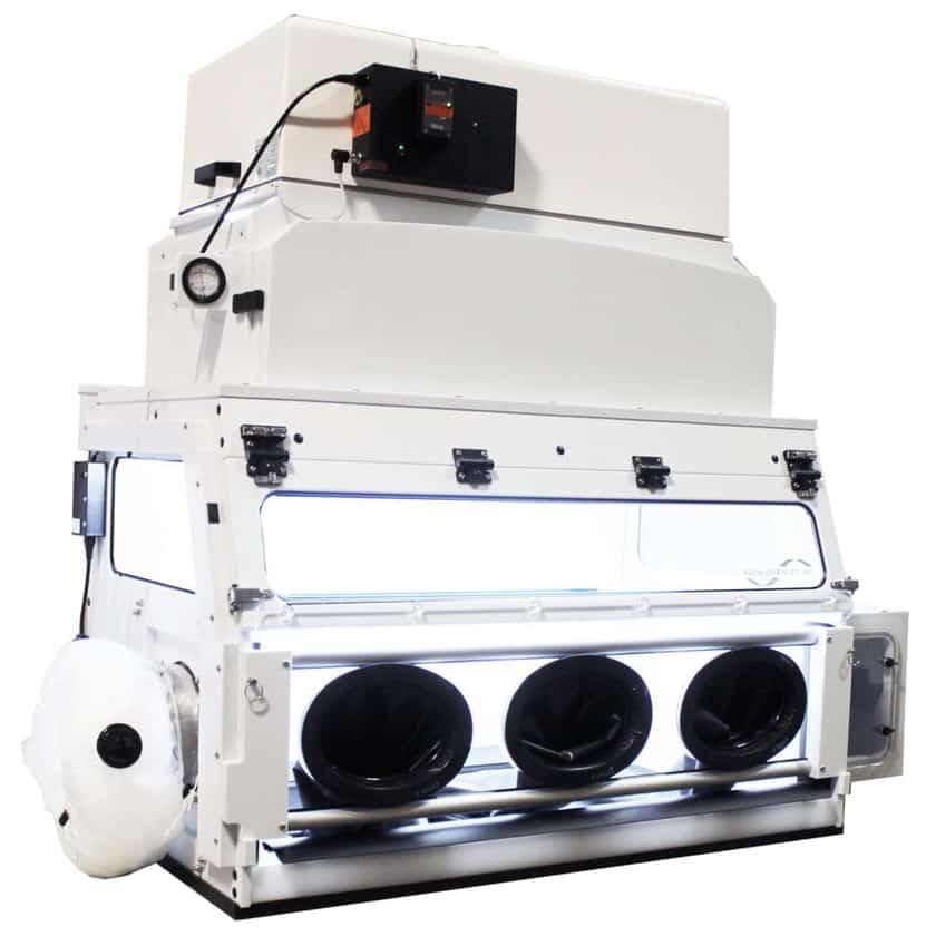 hybrid isolator fume hood