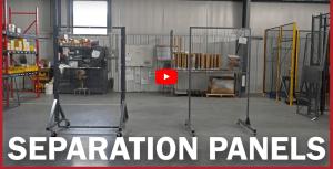 Lab Tech Separation Panels
