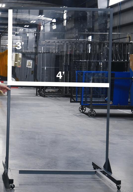 Half Length- Lab Tech Separation Panels
