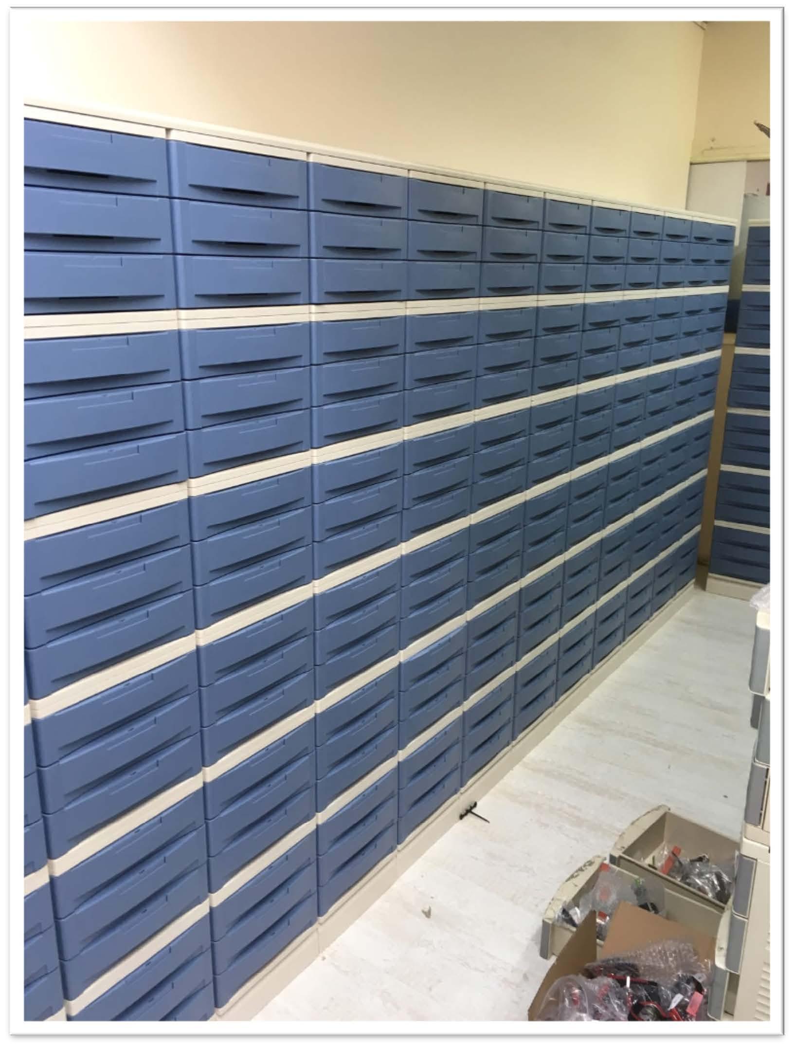 Plastic Drawer Storage System