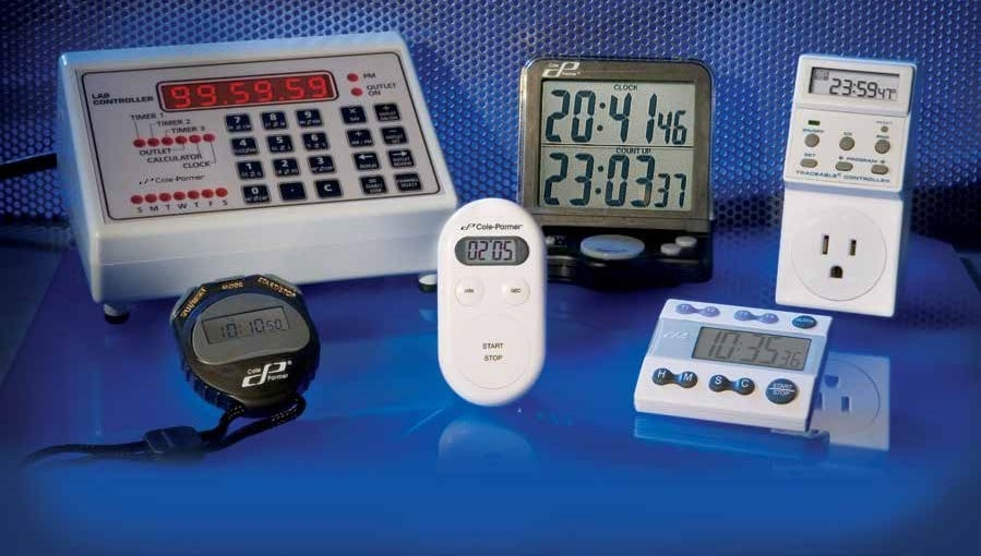 Cole-Parmer Timers Controllers