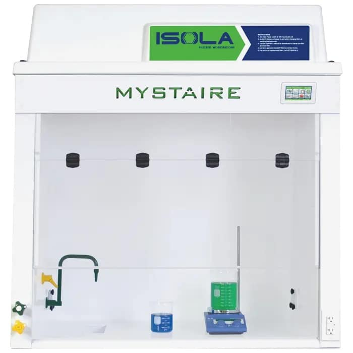 Isola EDGE Filtered Fume Hood with EverSafe III Touch Microprocessor controller. 110V