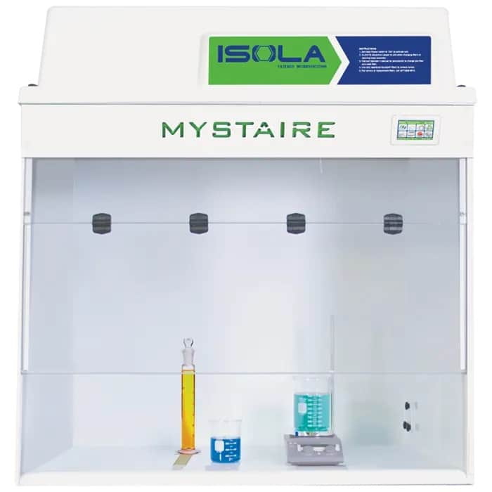 Isola PRO Filtered Fume Hood with EverSafe III Touch Microprocessor controller. 110V