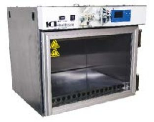 Laboratory Warming Cabinets Framed Glass Door Bench Top