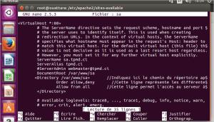 Configuration serveur APACHE en IPv6
