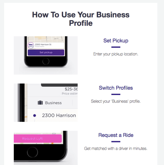 Lyft for Business 2