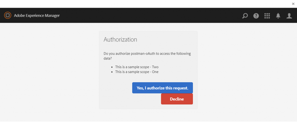 AEM as OAuth Server – Part 1 – Setting up Scopes