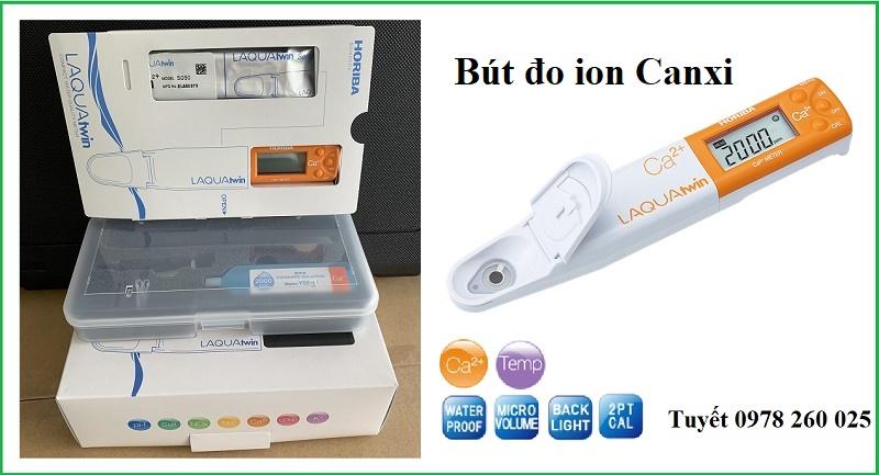 Bút đo canxi Ca-11 trong đất, nước, thức uống - Horiba, Nhật Bản