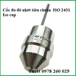 Cốc đo độ nhớt theo tiêu chuẩn Iso 2431