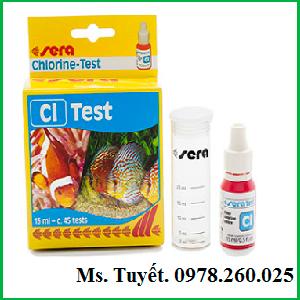 Test clo - sera - dụng cụ đo nồng độ clo trong nuôi trồng thủy sản