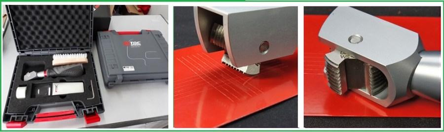 Dụng cụ đo độ bám dính màng sơn khô CC1000