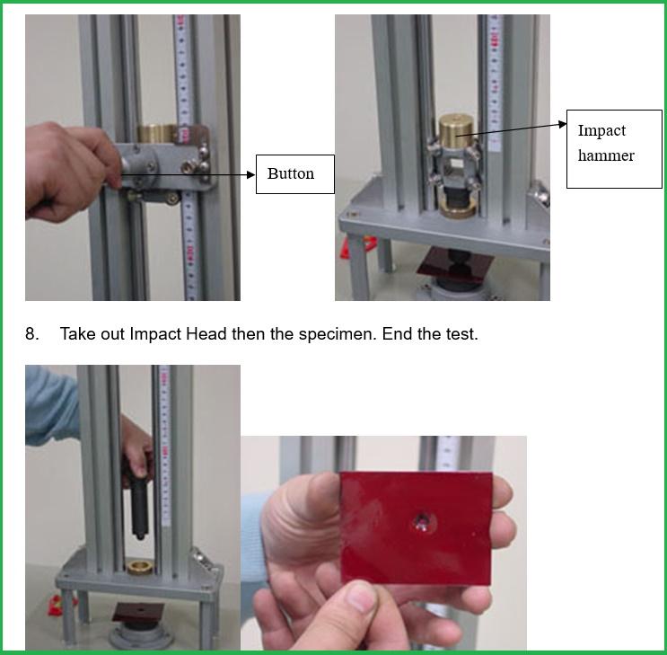 Máy đo độ bền va đập QC-641 chuẩn Dupont,