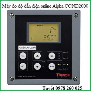 Máy kiểm tra độ dẫn điện online Alpha