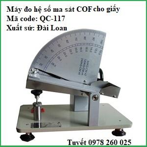 Máy đo chỉ số COF