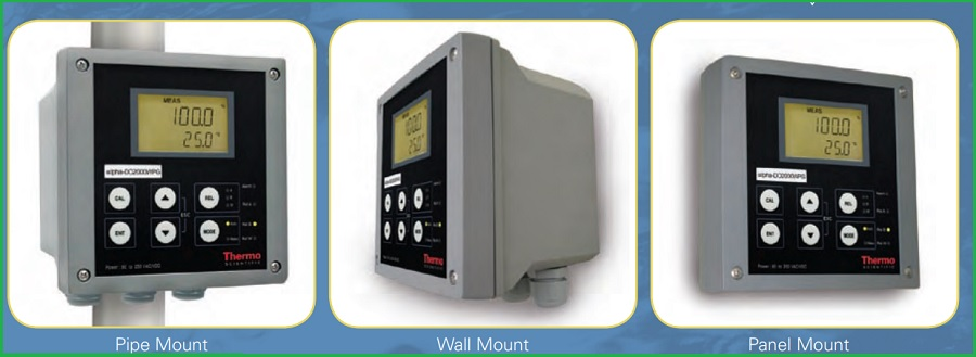 máy đo oxy hòa tan controller