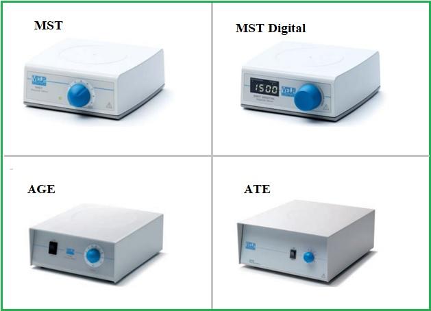 Máy khuấy từ không gia nhiệt MST, AGE, ATE