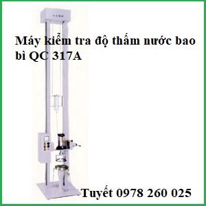 Thiết bị kiểm tra độ thấm nước vải QC-317A
