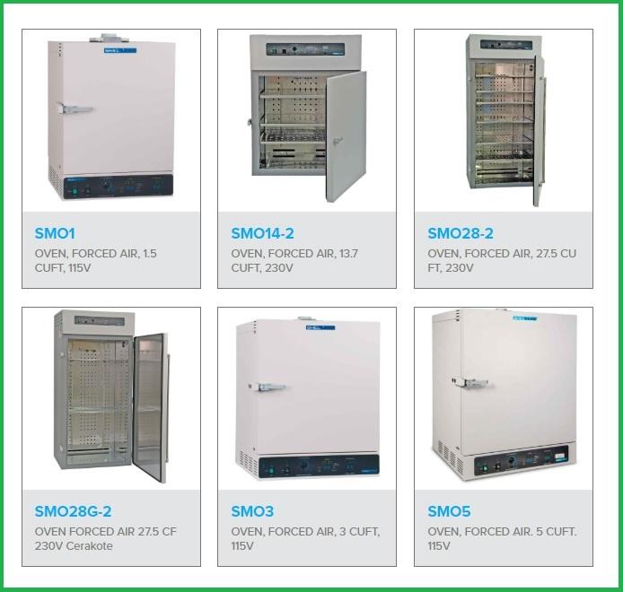 Tủ sấy đối lưu cưỡng bức SMO (forced air ovens)