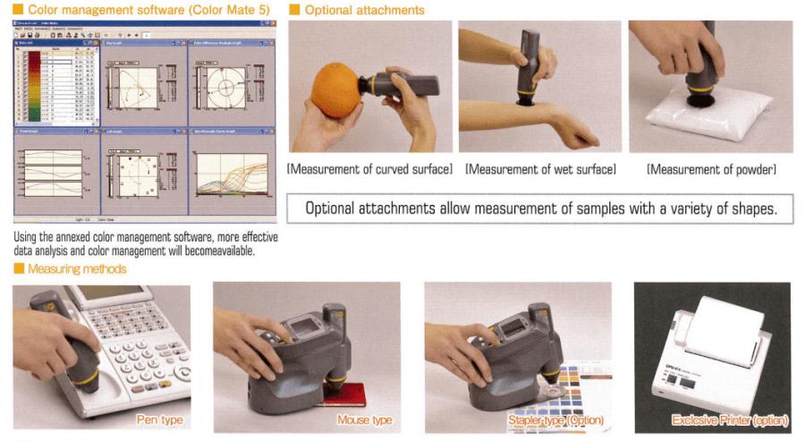 Ứng dụng của máy so màu quang phổ cầm tay
