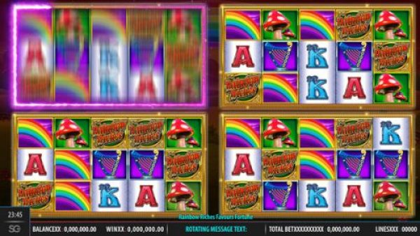 How to play Rainbow Riches Fortune Favours