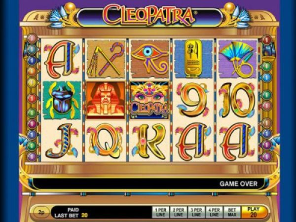 cleopatra is one of UK's best online slots