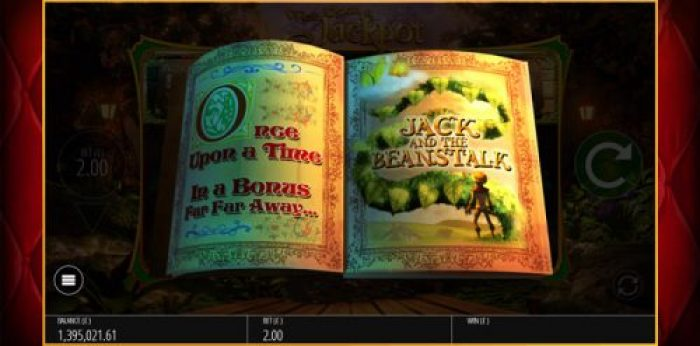 Jack and the Beanstalk bonus feature