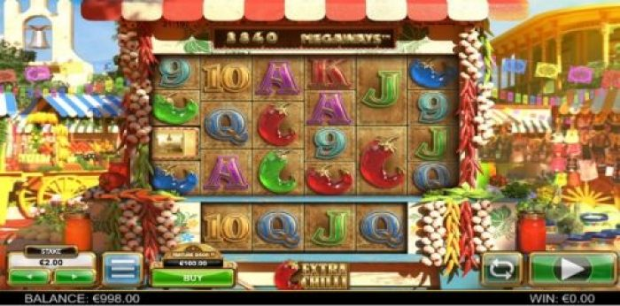 Play Extra Chilli slot game via one of our partner casinos