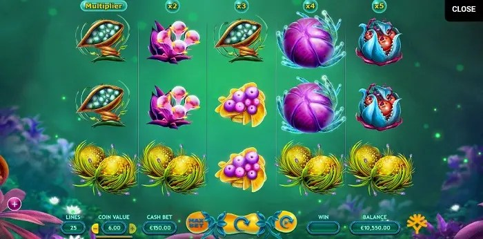 Fruitoids Max Bet