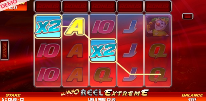 Slingo Reel Extreme online slot game win