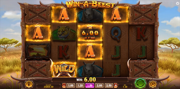 Win a Beest online slot game win