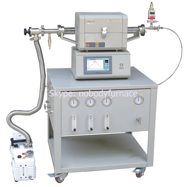 Mini Tube Furnace With Gas Mixing System
