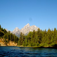 Cruisin' the Snake River at Grand Teton National Park