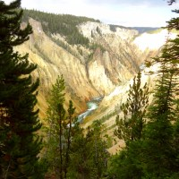 Yellowstone National Park: Uncle Tom's Trail and Artist Point