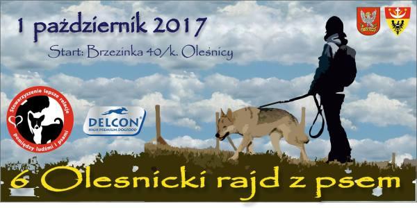 6. Oleśnicki rajd z psem