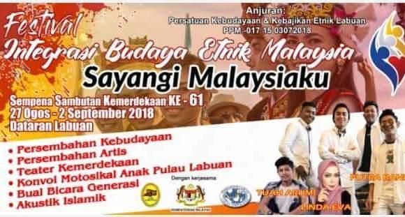 [30 & 31 Ogos] Festival Integrasi Budaya Etnik Malaysia