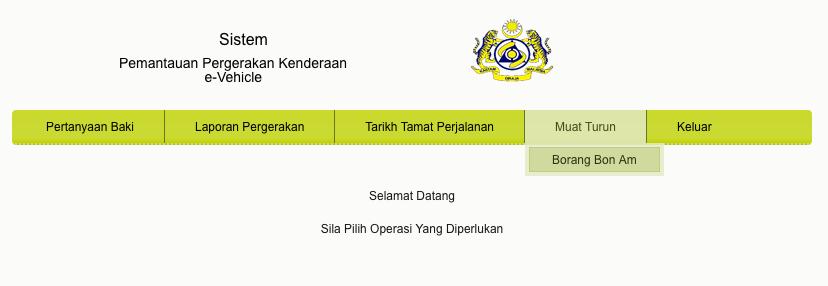 Permohonan Pembaharuan Kad E Vis Labuan Malaysia