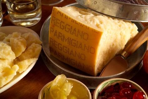 Maridajes con el Parmigiano Reggiano