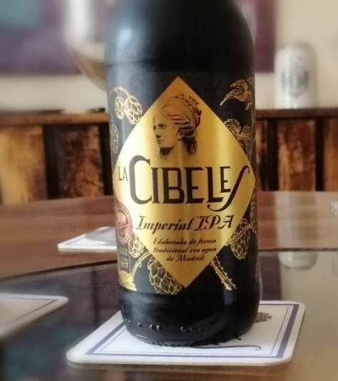Cerveza IPA. Cibeles Imperial IPA