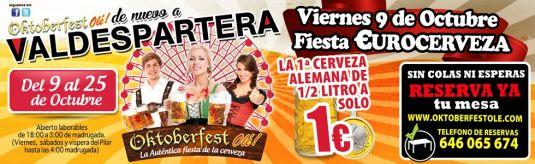 Feria de la cerveza en valdespartera